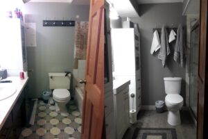 Bathroom Remodel Before & After